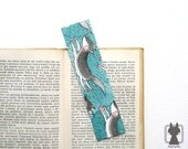 Wolf pack bookmark - hand painted, original and unique - wolf bookmark