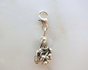 Sterling Silver Snowberry Clip On Charm