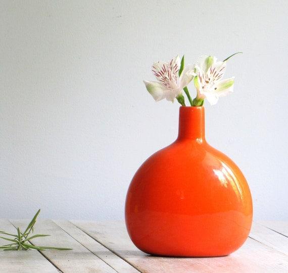 vintage modern JARU pottery vase