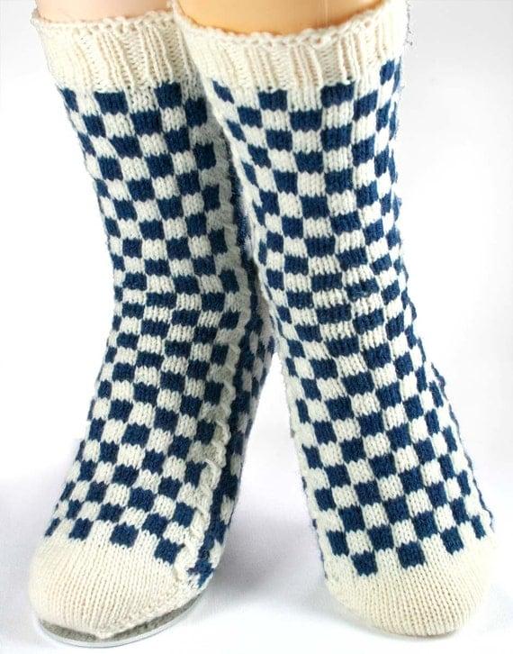 KNITTING PATTERN for  Louis Vuitton-Inspired Socks