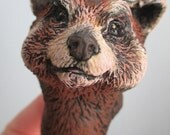 Red Panda Anthro Art Doll Parts, Pattern A, D Compatible