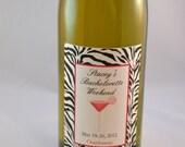 10 Bachelorette Wine Bottle Labels