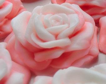 30 Rose Soap - baby shower favor, flower wedding favor, rose party favor