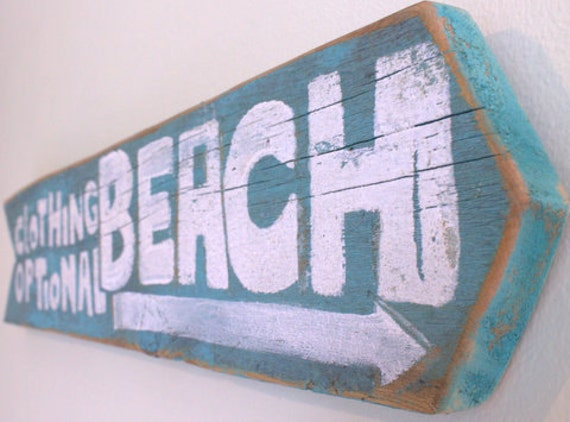 Beach Sign Wooden with Original Art Design on Reclaimed Distressed Wood Coastal Surf Nursery Baby Surfer Boy Girl Birthday Party Decor