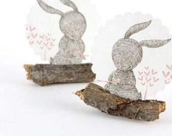 20 Stickers - Rabbit Love