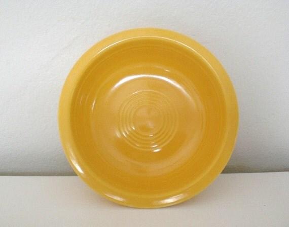 Vintage Fiestaware Fruit Bowl Yellow