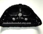 Dark Knight Crochet Hat