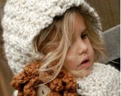 Crochet PATTERN-The Havyna Hood (Child, Adult sizes)