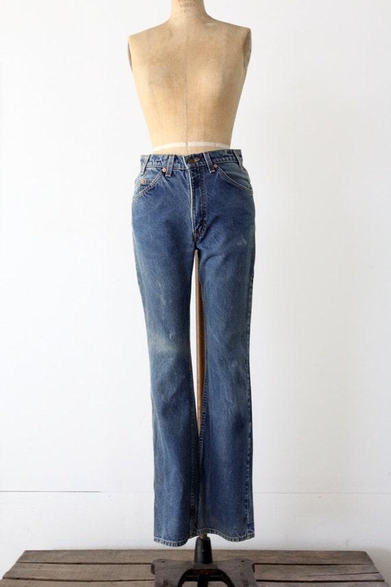 Vintage Levis 517 Jeans / 1980s Levis Denim / Waist 31