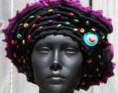 Colourful & Festive Crochet Hat... A True Delight...