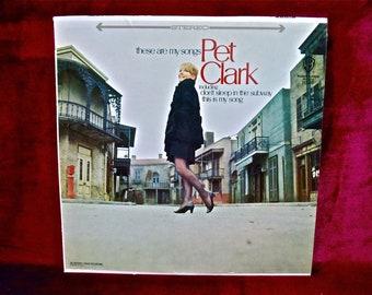 PETULA CLARK - These are My Songs - 1967 Vintage Vinyl Record Album