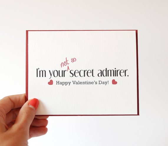 hidden message valentines day card items similar to valentines card i you card 6707