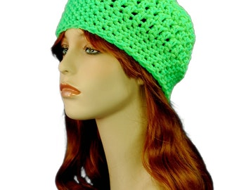 Easy Crochet Beanie Hat PATTERN Simple Crochet Beanie Adult Hat Mother's Day Easy Crochet Gift Ideas For Men