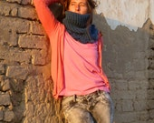 Cowl Scarf Crochet Pattern Crochet Chunky Cloe Neckwarmer PDF - Woman cowl pattern - Instant DOWNLOAD