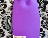 Neoprene lens case - Bright Purple