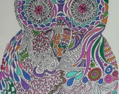 Owl greetings card