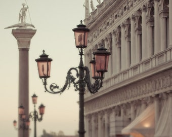 "Venice photography, travel art print, Venice print, Large wall art print  - ""Venice Morning"""