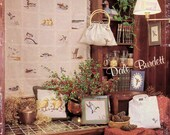 Everything's Just Ducky Cross Stitch Booklet by Dale Burdett Counted Cross Stitch Vintage 80s Cross Stitch Patterns 16 Mallard Duck Designs