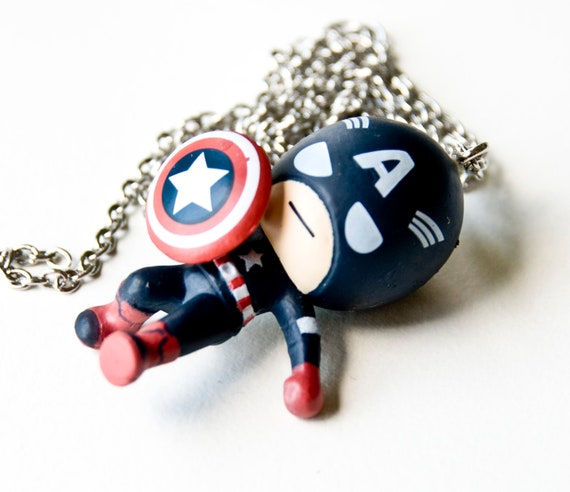 Captain America Avengers Necklace