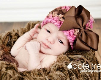 Crochet Pattern for Charisma Beanie -5 sizes, baby to adult - Welcome to sell finished items
