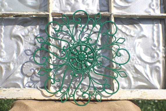 wrought iron wall decor metal wall by michellelisatreasure