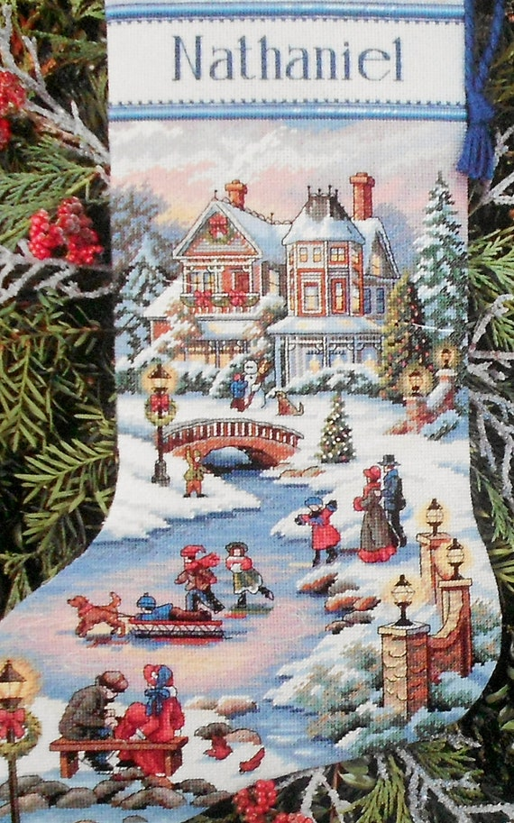 Christmas Stocking Cross Stitch Kit
