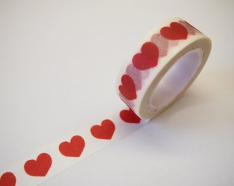 Washi Tape - Big heart (10M)