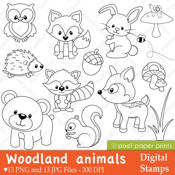 Unusual image pertaining to free printable woodland animal templates