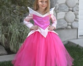 Sleeping Beauty Costume Dress, Princess Aurora