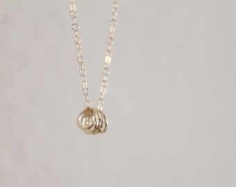 Stardust Ring Necklace // Gold or Silver