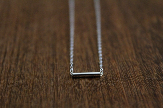 Dash Necklace // Gold or Silver