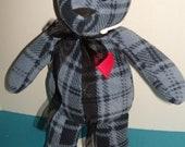 """1 - 15"""" Bereavement/Memory Custom Stuffed Teddy Bear"""