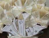 Custom Listing for Ana V. Beach Wedding, Beach Brushes, Shoe Brushes, Beach Themed Wedding, Beach Brush Pail