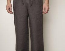 Just Classical Linen Pajama Trouser for Men