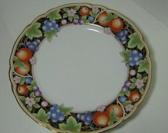 "Vintage Salad Plate Noritake China Pattern #4307 La Madeleine 8 3/8"" Diameter Plate Discontinued Pattern"