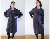 vintage avante garde wool dress