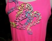 Electric Snake Swarm dress