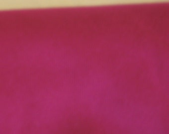 """rasberry coloured medium weight cotton, 1.45 metre length and 60"""" width"""