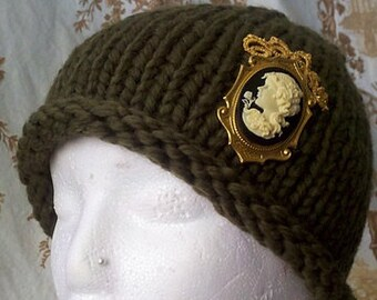 PATTERN: Hat Tutorial for Chunky Yarn, 2 Patterns Included, PDF