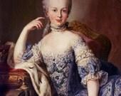 Marie Antoinette Portrait Print from 1767