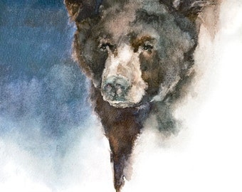 "Art Print - ""Bear Where"""