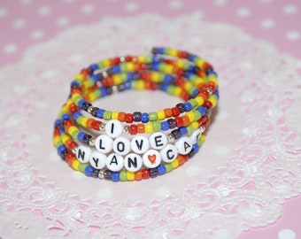 Nyan Cat Bracelet - From Gitana's Yummies New Collection