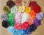 50 Cent Shabby Headband Color Surprise - Best Price for Flower Headbands - You Choose the Quantity, I Send a Surprise! - Great Party Favors