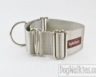 "More Mix and Match 1.5"" (38mm) Martingale Dog Collars, Custom Colors"
