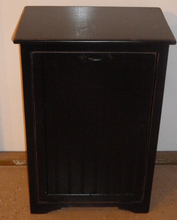 Tilt Out Trash Can Cabinet By TinBarnCreations On Etsy