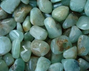 Prehnite Tumbled Stone T72
