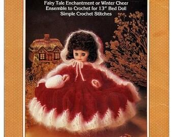 Little Red Riding Hood:   Bed Doll Crochet Pattern Fibre Craft FCM147