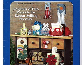 Holiday Bazaar Best Sellers Plastic Canvas Pattern House of White Birches 181041