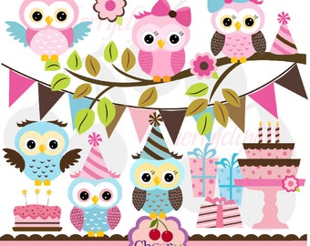 cute owl birthday  etsy, Birthday card