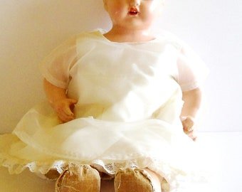 Vintage Composition Doll from the 1940's